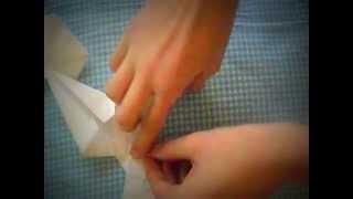 Бант из бумаги. Оригами. Украшение. 2 видео-урок.