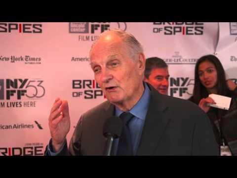 "Bridge of Spies: Alan Alda ""Thomas Watters"" Red Carpet Movie Premiere Interview"