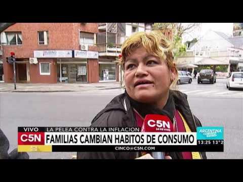 C5N - Economia: Cambios en los hábitos de consumo de los argentinos