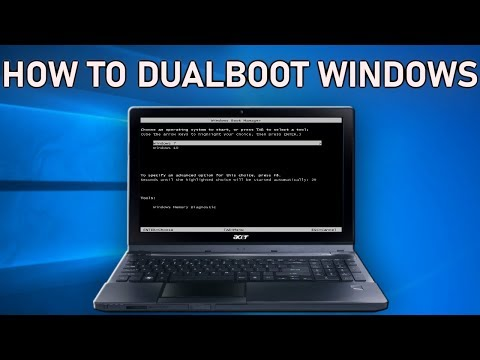 How To DualBoot Windows Operating Systems On Your Laptop Or Desktop PC 2019 Guide