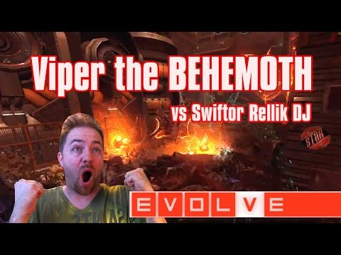BEHEMOTH in EVOLVE! Playing with Swiftor  party glitches and I am Behemoth