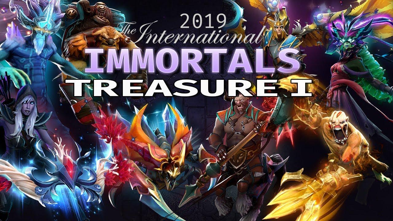 Dota 2 immortals 2019