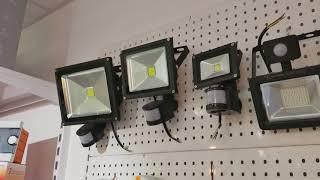видео Уличный светодиодный светильник 100 Ватт, 220 Вольт — купить в Солнечные.RU