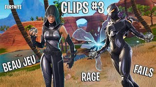 [FORTNITE] BEAU GAME, FAILS, RAGE, BUG WTF: CLIPS #3