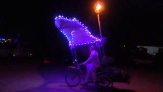 Burning Man 2014 - amazing art bike