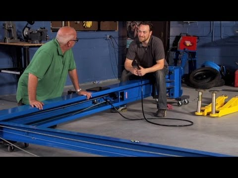 How to Install a Vehicle Lift (Part 2) - YouTubeYouTube