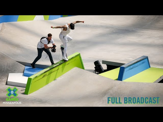 REPLAY: Skateboard Best Trick   X Games Minneapolis 2019