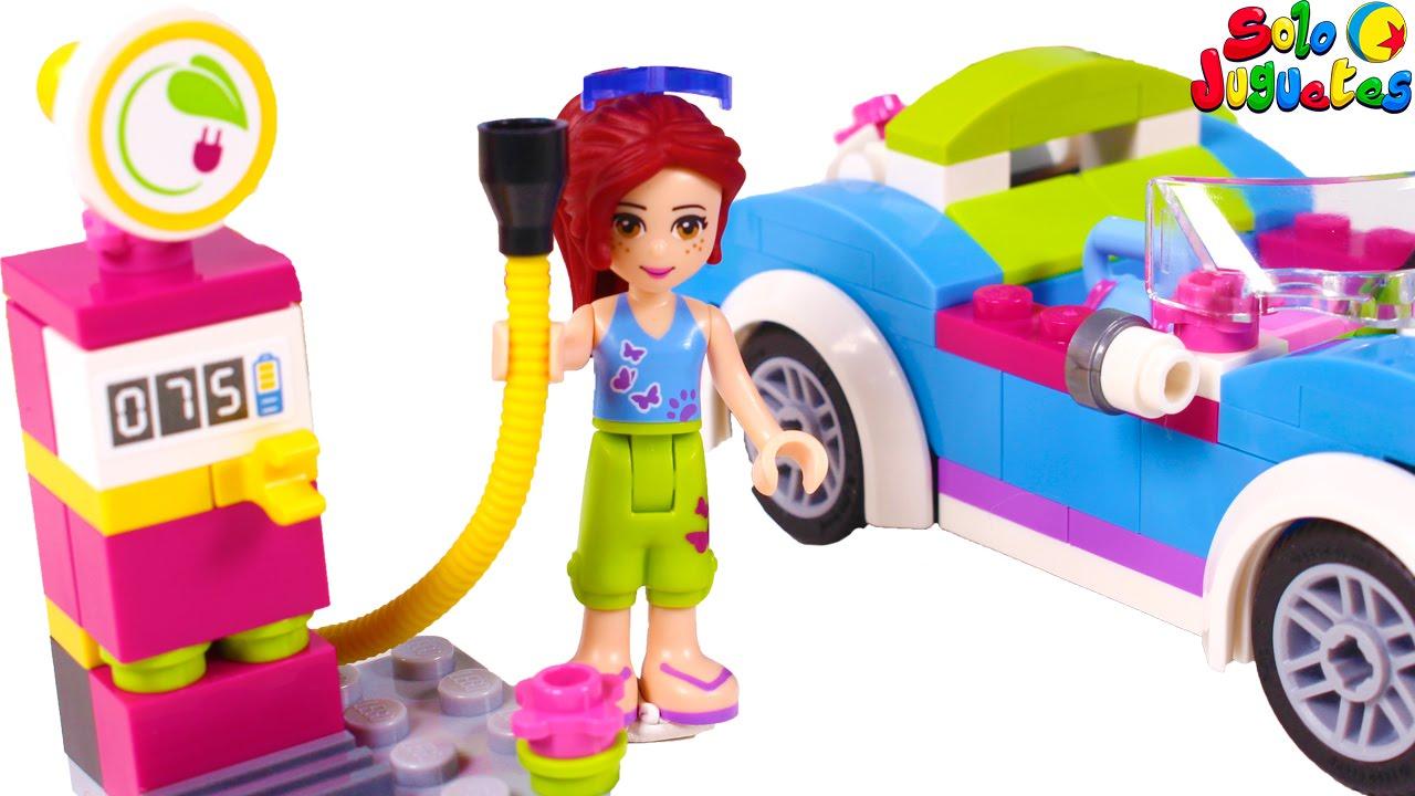 lego friends nuevo coche y gasolinera de mia juegos para nios y nias