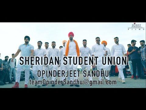 Sheridan Student Union  || Opinderjeet Sandhu || HarryJordan.ca || Full Video 2017