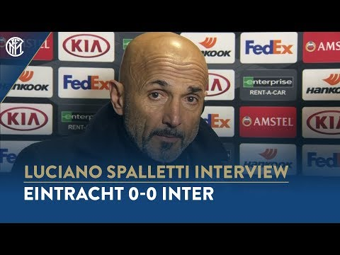 "EINTRACHT 0-0 INTER | LUCIANO SPALLETTI INTERVIEW: ""We played with authority and personality"""