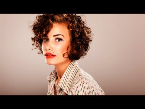 how-to-style-short-curly-hair-|-short-hairstyles