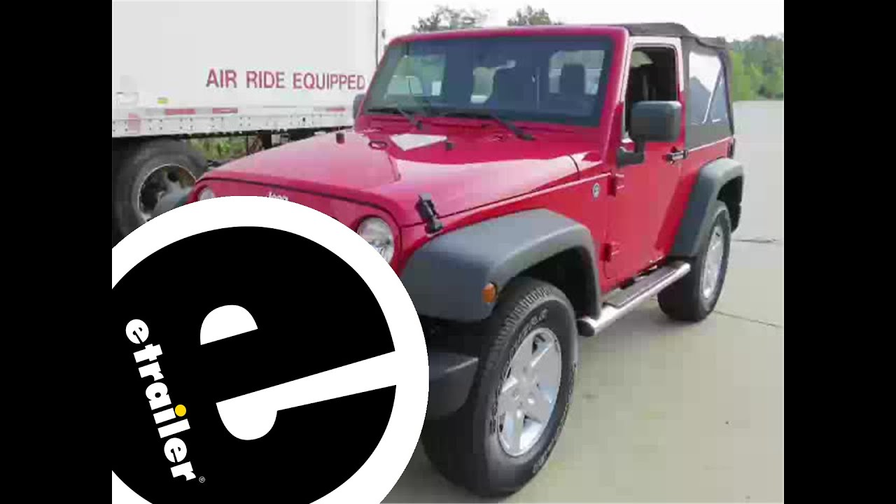 small resolution of  maxresdefault installation of a trailer wiring harness on a 2013 jeep wrangler 2015 jeep wrangler trailer