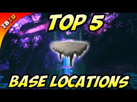TOP 5 ABERRATION BASE LOCATIONS! Ark Survival Evolved Aberration DLC