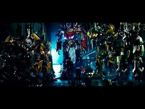 Download Transformers 1 Autobots Arrival Scene