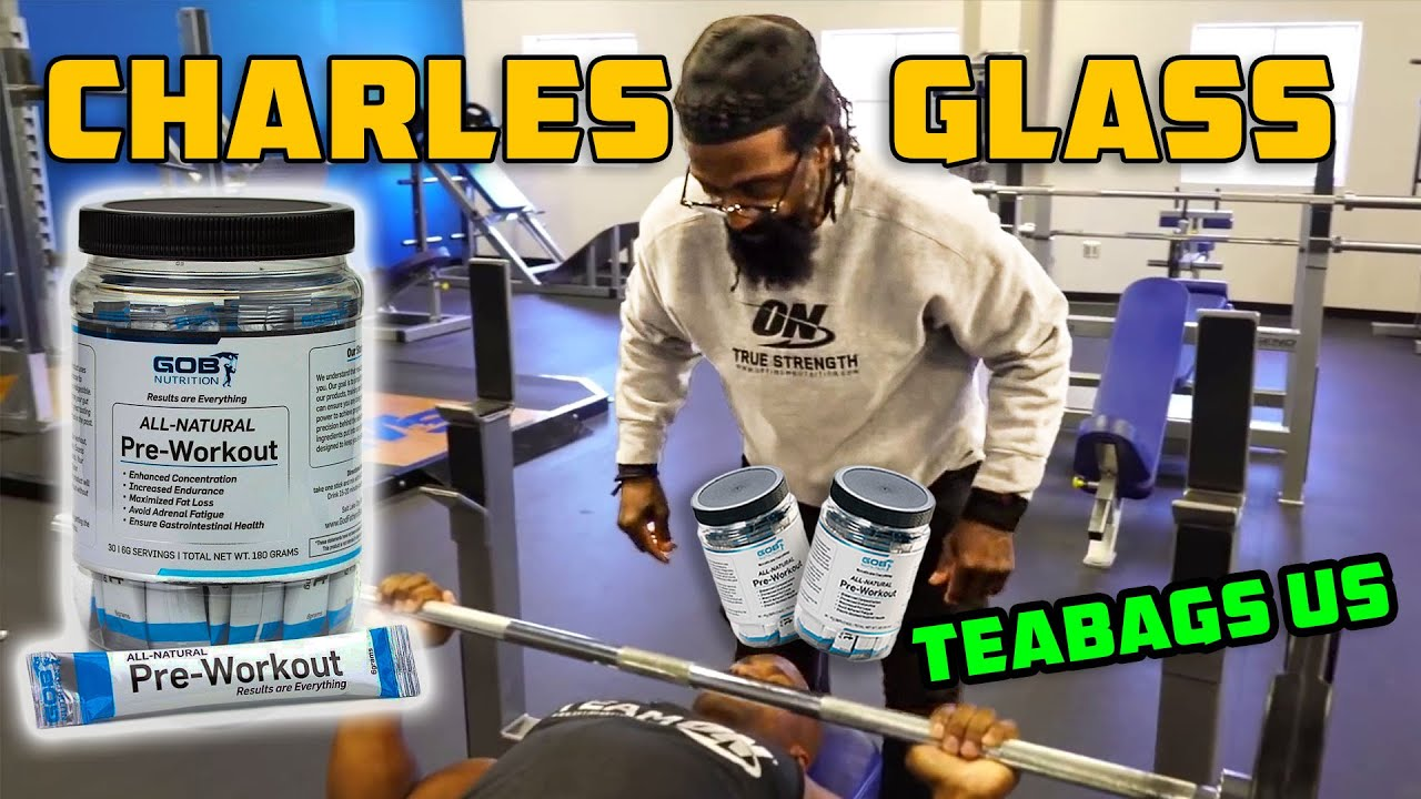 Charles Glass Teabags Us With His Pre-Workout