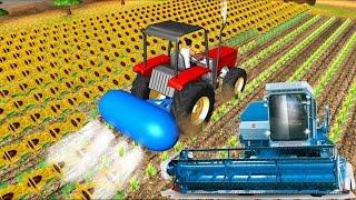 Машинки Мультики для детей🚜 Синий Трактор Ферма Паровозики Развивающие Мультфильмы все серии подряд