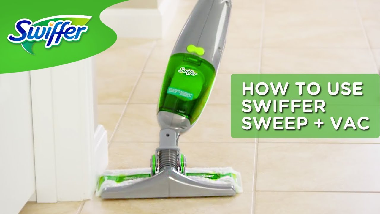 Swiffer Sweep Vac Lightweight Cordless Vacuum Cleaner