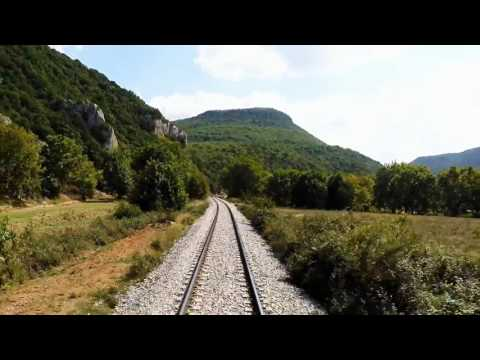 Travel Trains to Greece to Bulgaria - Alexandroupolis to Kulata Part 1