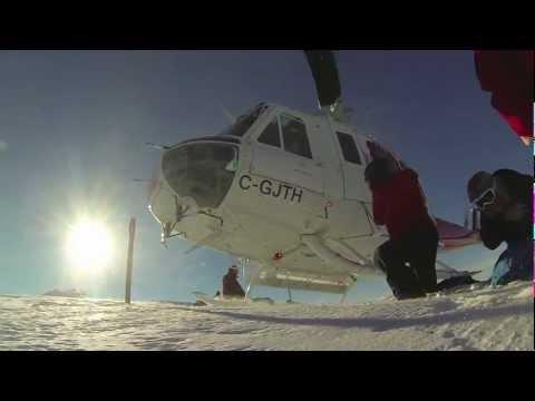 Heli Skiing Whistler Blackcomb GoPro