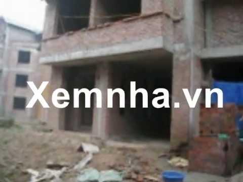 bán nhà liền kề xây thô tại KDT Trung Văn, Từ Liêm, HN, 90m2 x 4 tầng,