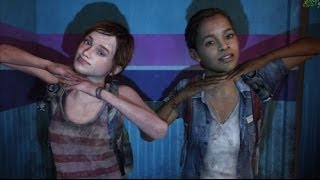 The Last of Us: Left Behind - Ellie and Riley having fun at the Photobooth