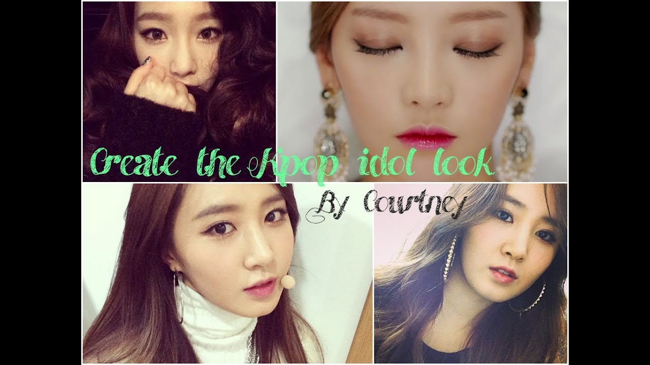 snsd makeup - create the kpop idol makeup look! || courtney lee