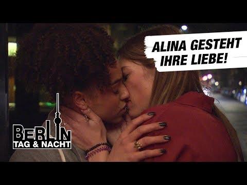 Berlin - Tag & Nacht - Alina gesteht Jacky ihre Liebe! #1671- RTL II