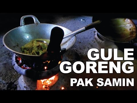 WISATA KULINER SOLO: GULE GORENG PAK SAMIN (GULGOR) - SOLO STREET FOOD #11