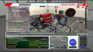 Realistic Engine Building Game - 009 - 12,000rpm 1000hp V8 Turbo