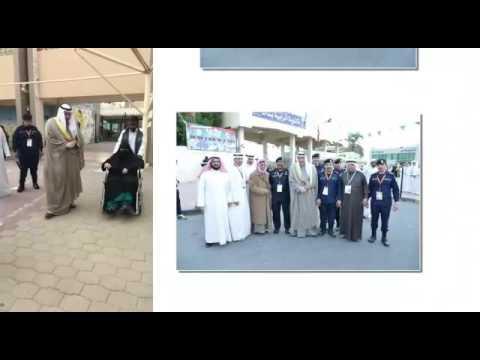 الشيخ فيصل الحمود تفقد سير العملية الانتخابية بلجان محافظة الفروانية