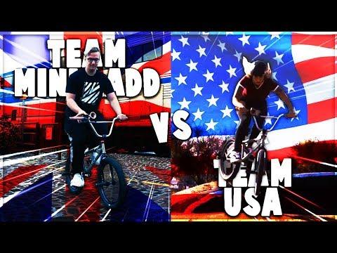 Team USA vs Team Mini Ladd (Trials Rising IRL)