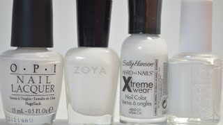 The Battle of The White Nail Polishes