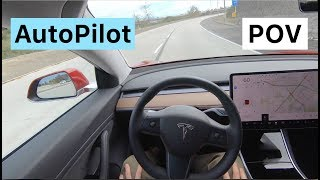 Tesla Model 3 POV Drive with AUTOPILOT