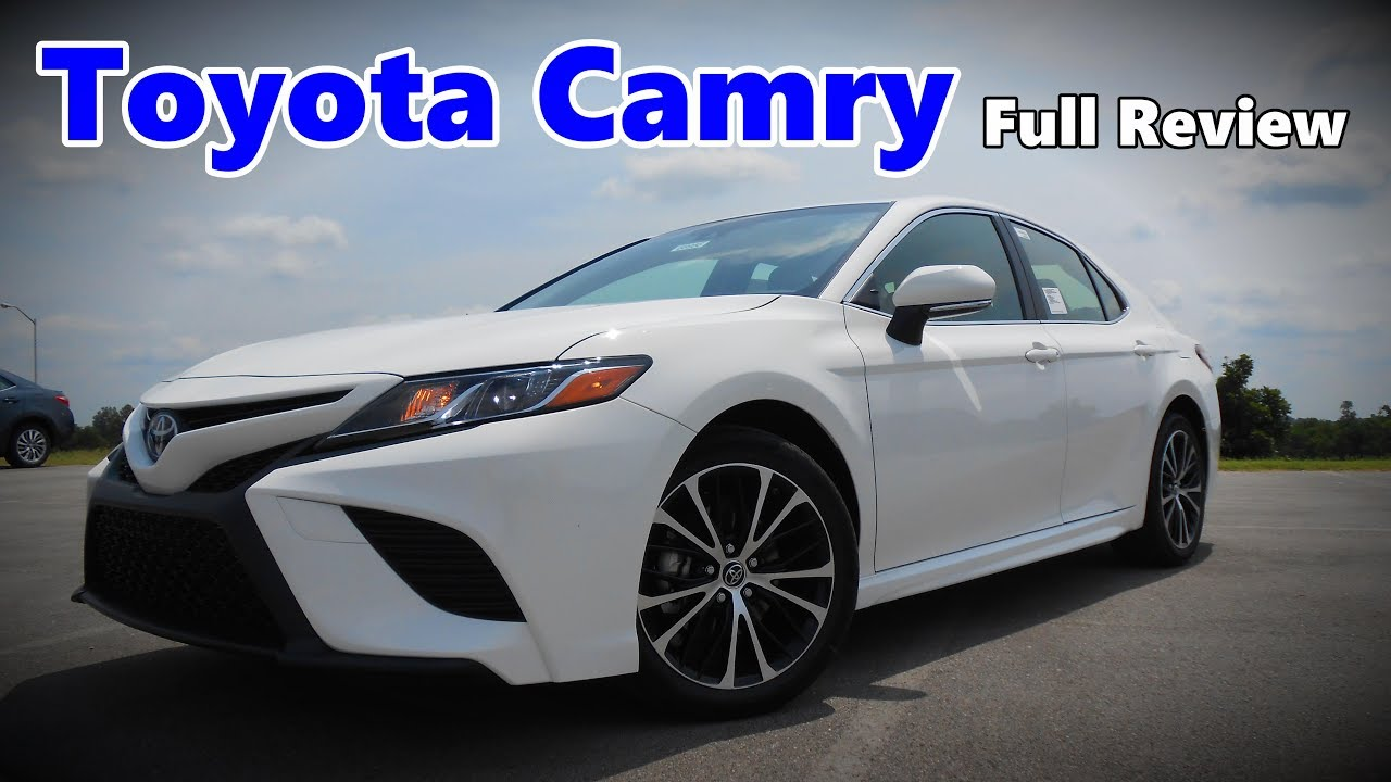 2018 toyota camry full review xse xle se le youtube. Black Bedroom Furniture Sets. Home Design Ideas