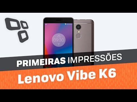 Lenovo Vibe K6 - Primeiras impressões - TecMundo