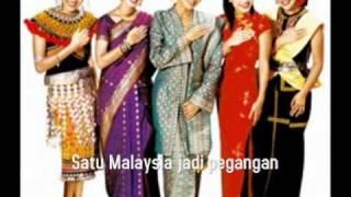 Satu Malaysia Minus One with lyrics