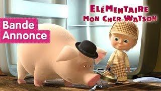 Masha et Michka - Elémentaire Mon Cher Watson 🔎(Bande Annonce)