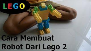 Cara membuat robot dari lego part 2