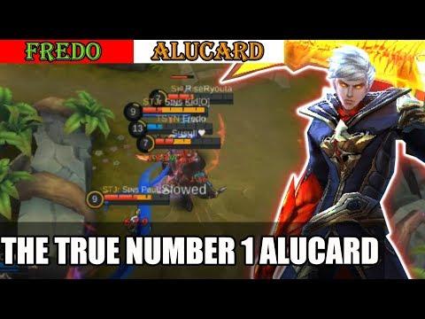 The True Number 1 Alucard (Fredo) Mobile Legends Gameplay