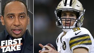Stephen A: Drew Brees is 'one of the greatest quarterbacks this game has ever seen' | First Take