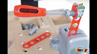 Munkapad gyerekeknek Black+Decker Smoby mechanikus