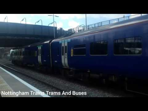 Trains: Northern: Class 158-860 Arrival, Ilkeston - Opening Day - 02/04/2017