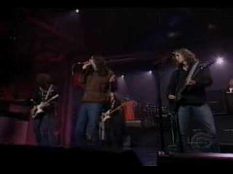 The Black Crowes - Soul Singing on Letterman