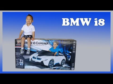 Thumbnail: BMW i8 6V 6 Volt Battery Ride On Power Wheel Unbox & Assemble