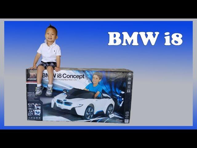 BMW i8 6V 6 Volt Battery Ride On Power Wheel Unbox & Assemble