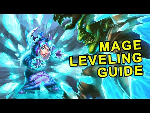 Classic WoW: Mage Leveling Guide - Talents, Rotation & Wand Progression