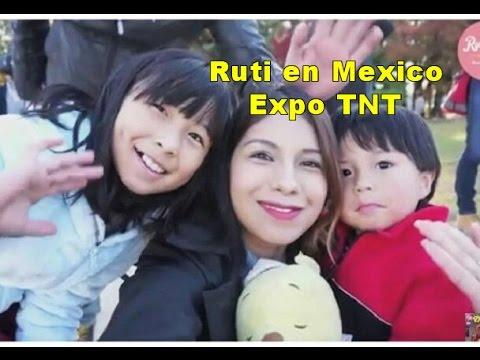 Ruti san en conferencia en Mexico , Expo TNT