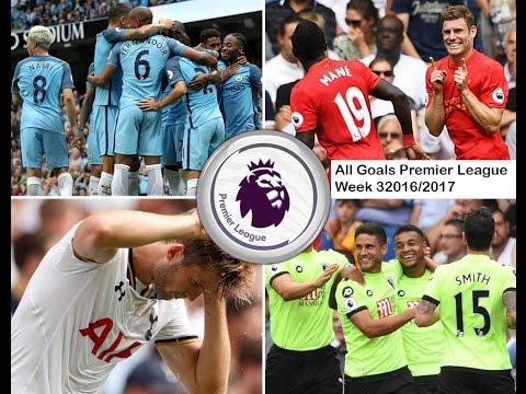 Premier League All Goals week 3 2016/2017