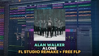 Alan Walker - Alone [FULL FL Studio Remake + FREE FLP]