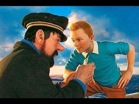 tintin et le secret de la licorne youtube. Black Bedroom Furniture Sets. Home Design Ideas